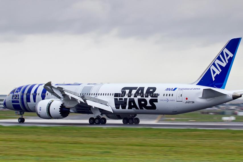 Flugzeug Starwars